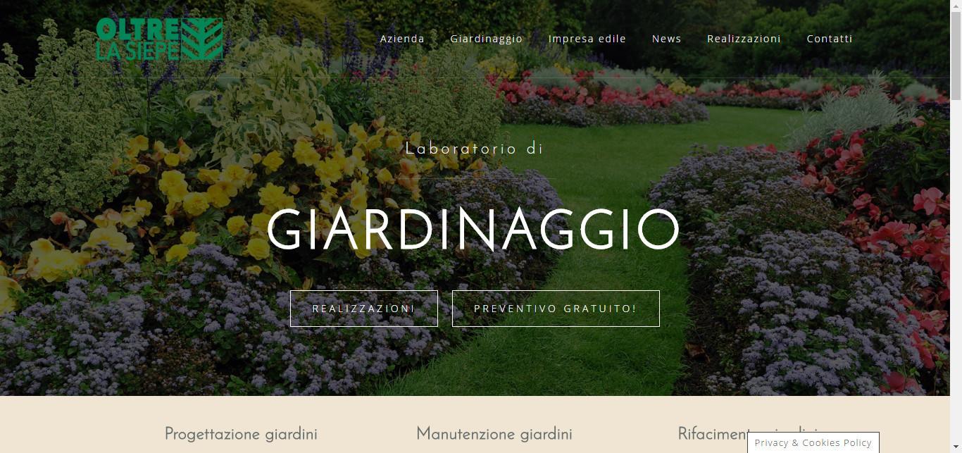 Imprese Edili Varese E Provincia oltre la siepe - giardinaggio - ristrutturazioni - varese e