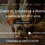 Grate di sicurezza Roma - MAV Solution