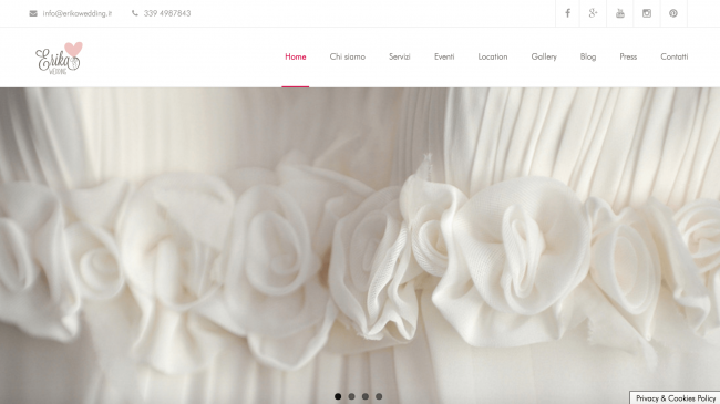 Erika Wedding – Organizzazione eventi Milano e Como