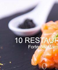 10 Restaurant Forte dei Marmi – Miglior Ristorante, Pizzeria, Catering