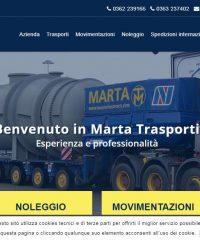 Marta Trasporti e Spedizioni – Traslochi – Noleggio – Magazzinaggio