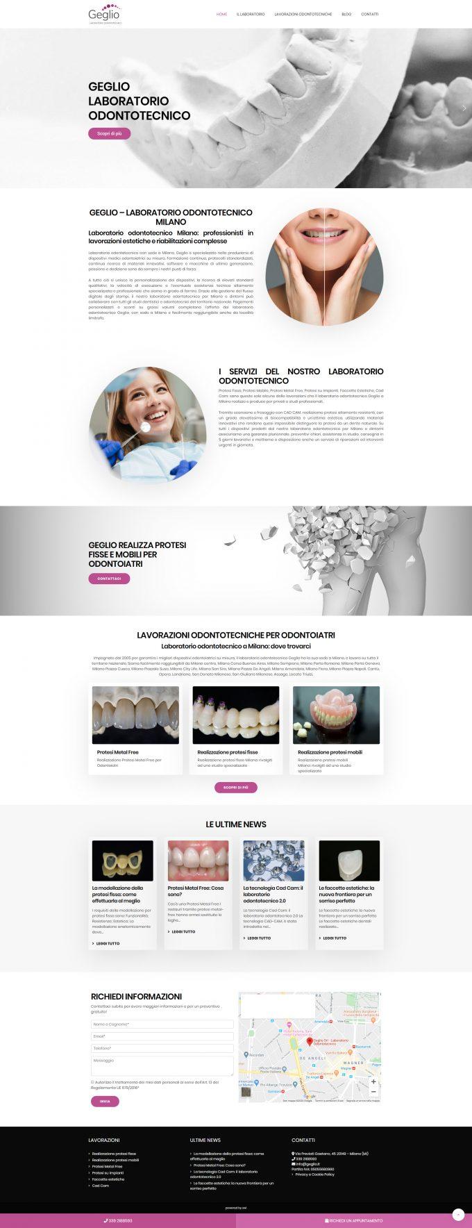 Laboratorio Odontotecnico Geglio – Milano