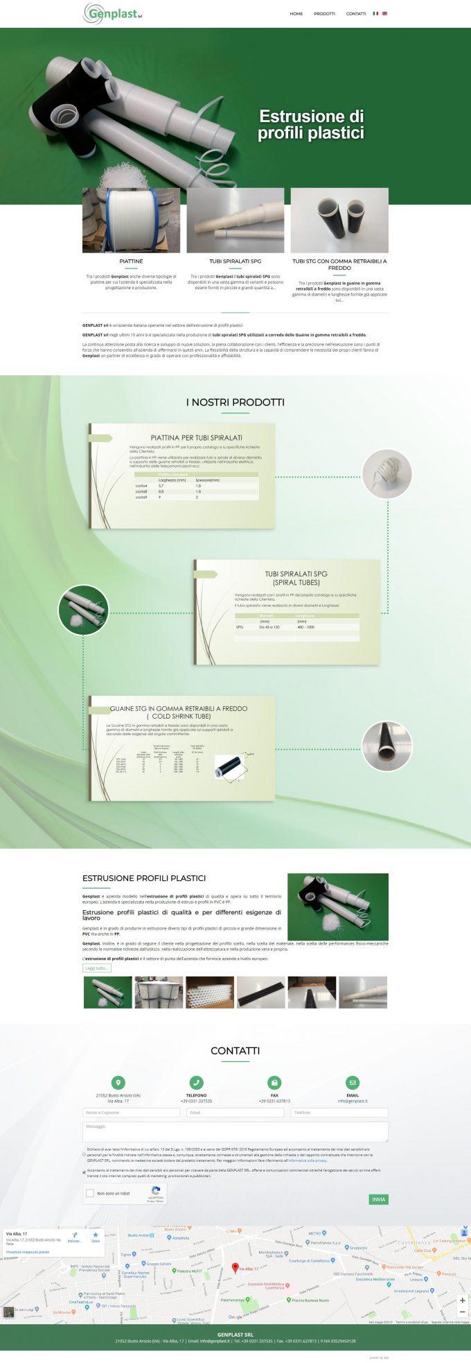 Genplast Srl  – Estrusione profili plastici