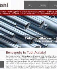 Castiglioni – Tubi acciaio