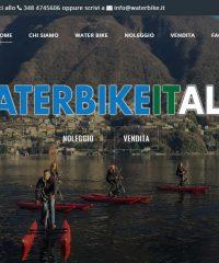 Water Bike Italia – Vendita e noleggio bike boat