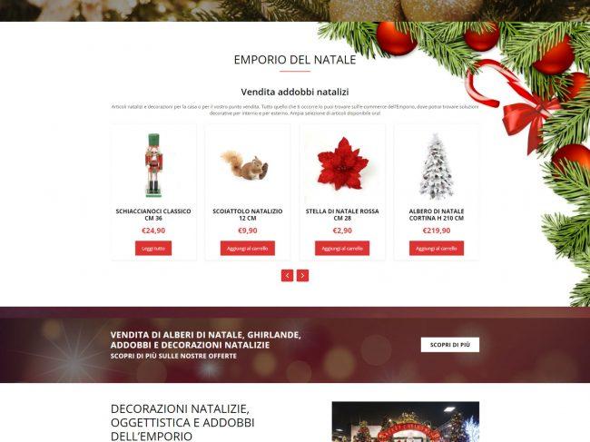 L'Emporio del Natale – Vendita alberi di Natale e addobbi natalizi