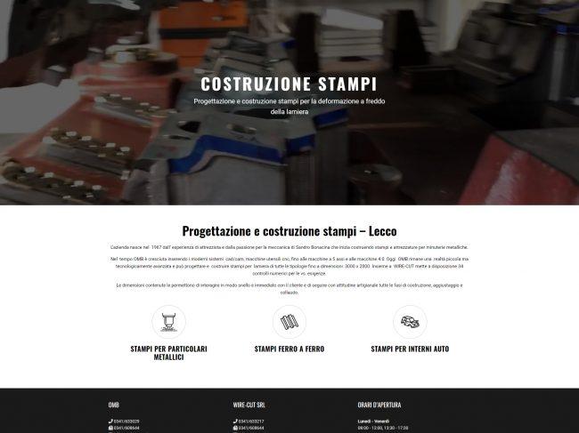 OMB Stampi – Progettazione e costruzione stampi Lecco