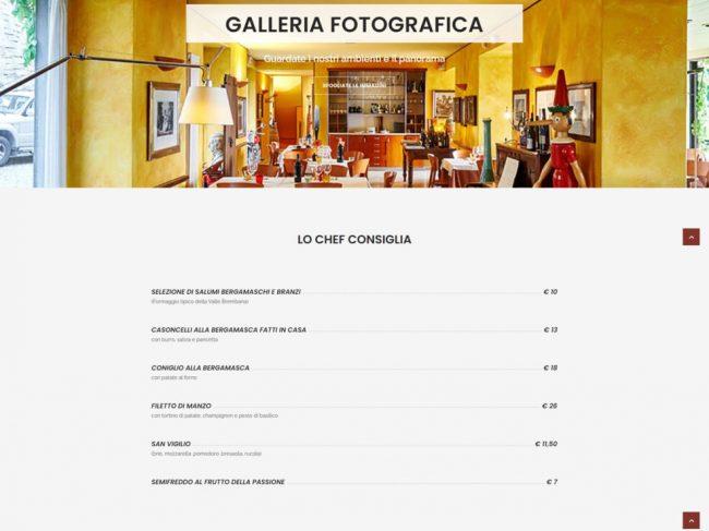 Ristorante Pizzeria San Vigilio – Bergamo