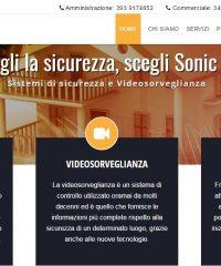 Sonic Srl – Servizi di sicurezza, videosorveglianza e antitaccheggio