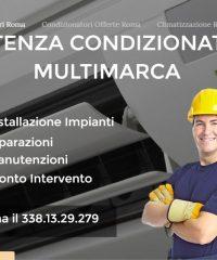 Assistenza condizionatori Roma – Riparazioni e manutenzione