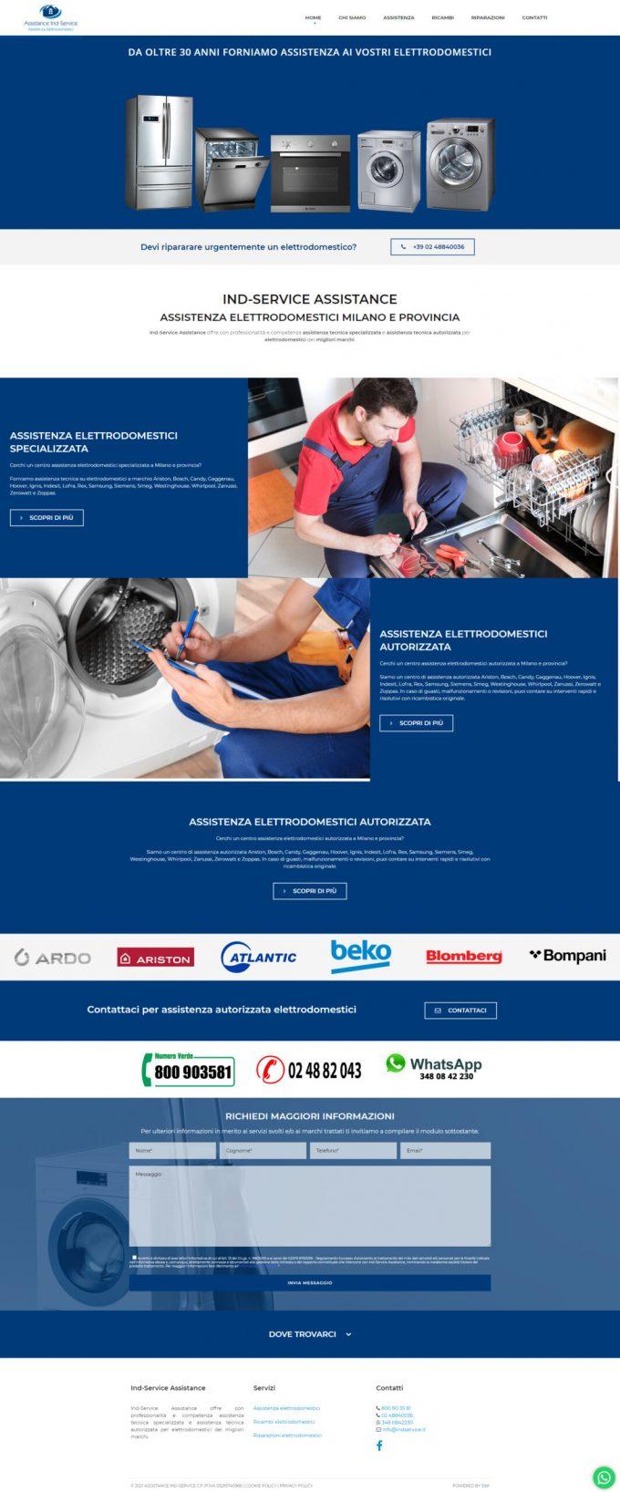 Assistance Ind-Service – Assistenza elettrodomestici Milano