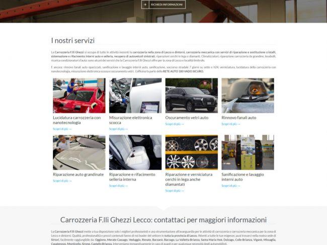 Carrozzeria F.lli Ghezzi – Carrozzeria professionale auto Lecco