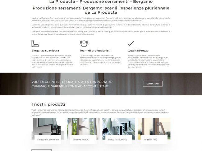 La Producta – Produzione Serramenti – Bergamo