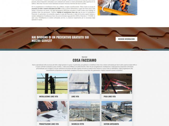 Tekno Crane – Installazione e progettazione linee vita Milano