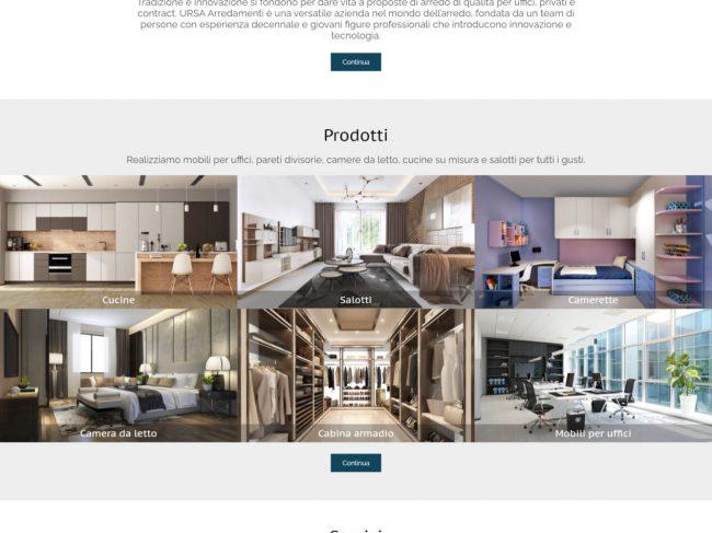 URSA Arredamenti – Progettazione e realizzazione arredi Bergamo