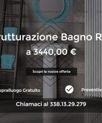 Ristrutturazione bagno Roma – Preventivi per il rifacimento del bagno