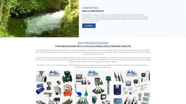 Biomass Impianti – Strumentazione salvaguardia risorse idriche